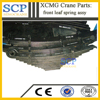 Quality Guarantee XCMG crane parts front leaf spring assy heavy duty truck leaf spring