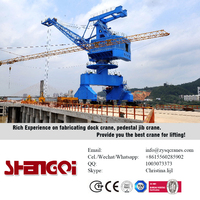 CE Certificated ABS certify European Standard Dry Dock Crane