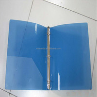 HAPPY COLORS,A4 size PP File folder with puissant clip spring Clip