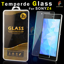 premium 9h tempered glass screen protector guard film for sony xperia zr m36h c5503