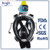 New design full face snorkel mask with camera with high quality