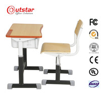 Modern Design Metal Family Furniture/School And University Bunk Steel Tables And Chairs