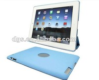 New Arrival Soft PU Leather Case cover For iPad