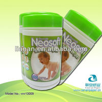 Non-woven Material and Skin Care Use wet wipes tissue