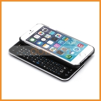 For iPhone 6 Backlit Slide out Bluetooth Keyboard Case Mini Physical Keypad Wireless Keyboard For iPhone 6