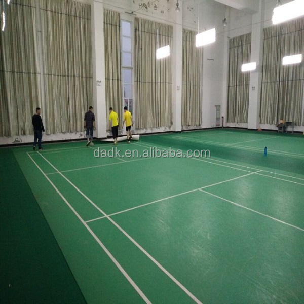 Volleyball and First Ever Indoor Modular Sports Flooring Surface