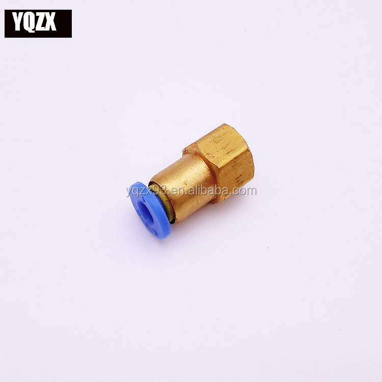 Brass Pneumatic air tube Fittings Manufacturer China Zexing