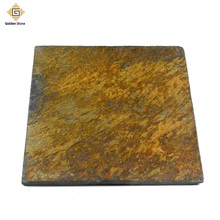 High quality outdoor 20mm rusty natural slate paving