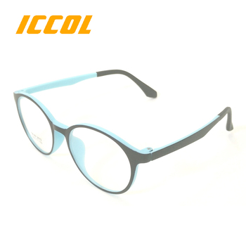 2017 hot sale colourful TR90 round girls customer brands china Eyewear