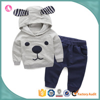 Wholesale latest child clothes wear cute baby boy clothes sets