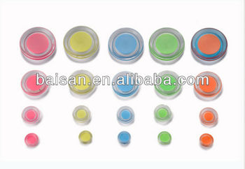magnetic buttons magnetic glass button pvc fridge magnet