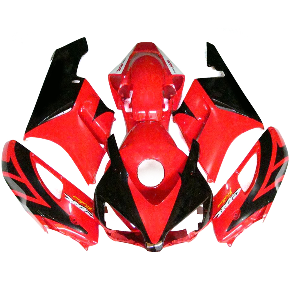 Injection ABS Plastics Motorcycle Full Fairings For Honda CBR1000RR 04 05 2004 2005 CBR1000 Fairing Kit Red Black