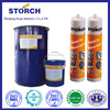 Mould-proof silicone sealant, sealing and caulking