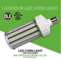 SNC First company get DLC E39 120w led corn light, led corn bulb 120w with Best price