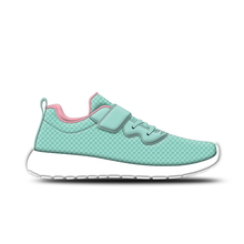 Custom design lace up sport running girls sneaker shoe
