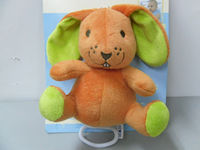Plush Animal Rabbit Baby Music pulling toys