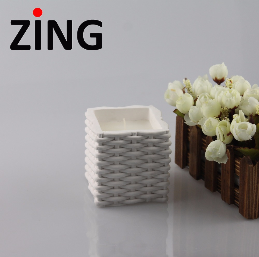 wholesale crystal candle holders/ Eco Friendly Luxury Scented Candles with decorative candle tins