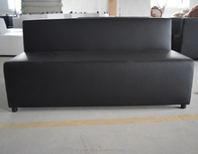 Black wedding bar event lounge furniture without arms XYN2534