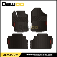 used for Toyota Yaris wholesale high quality durable rubber car floor mat