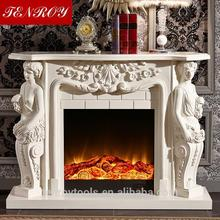 Retro free standing bio ethanol fireplace for wholesales