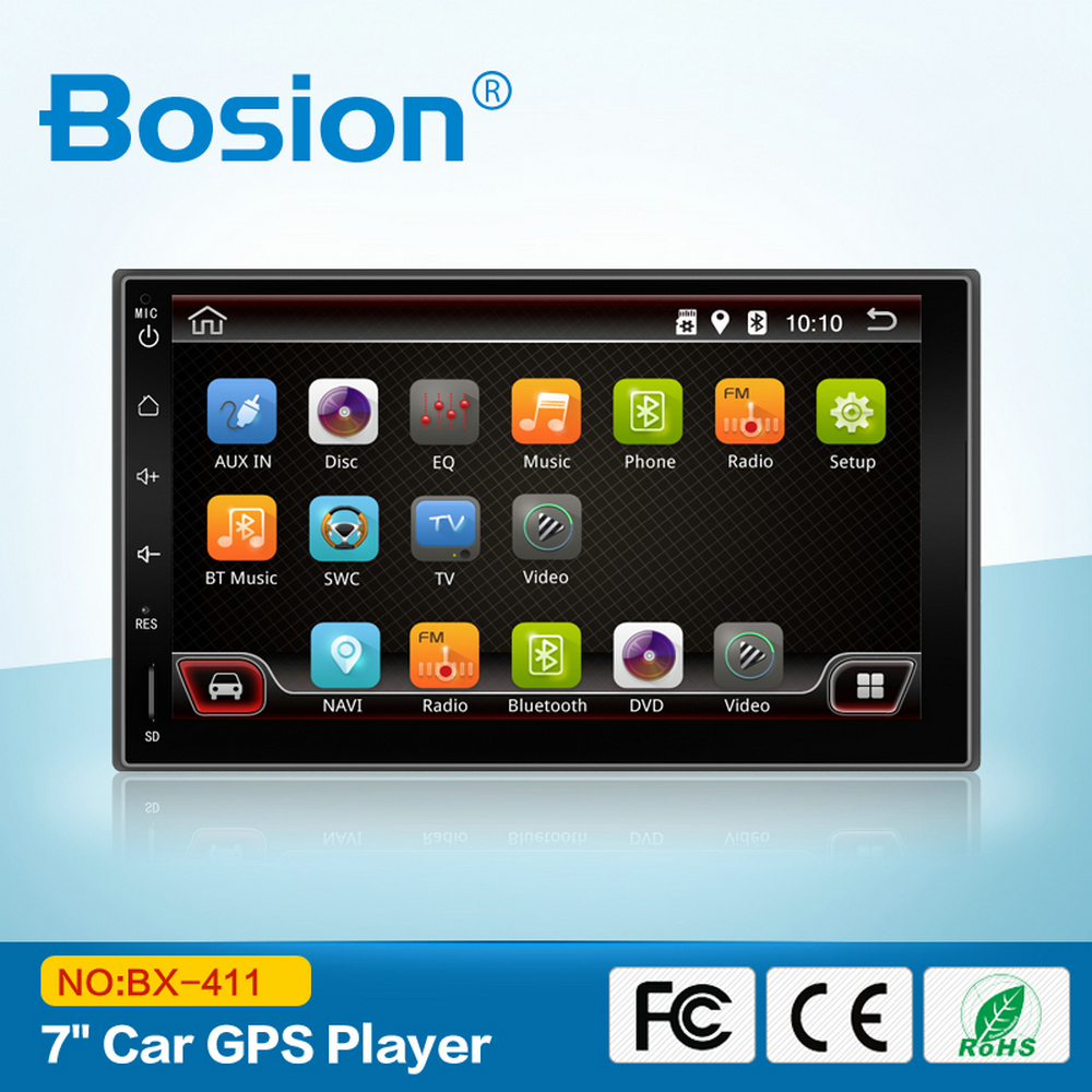 Android 4.4.4 Autoradio 2 din Universal Car DVD with GPS