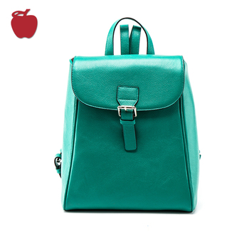 Factory directly Sales Customized Genuine Leather Ladies Backpack
