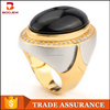 Egyptian 925 sterling silver jewellery natural big agate stone 18k/24k gold plating ring designs
