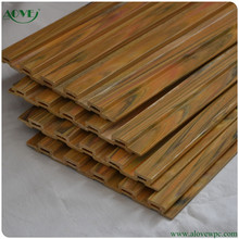 high quality wpc fence/ wood plastic composite wall panel wpc cladding/cheap outdoor wood plastic decking