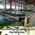 corrugated paper or smooth cardboard laminator machine for two paper glue or paste