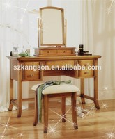 2015 Latest type of wrought iron dressing table for bedroom furniture
