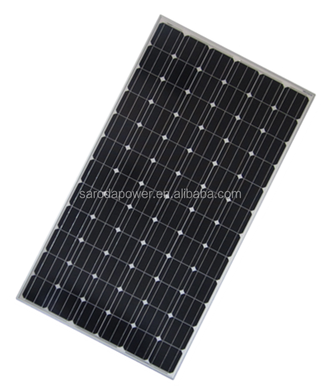 China PV module/SARODA 30V 250W MONO solar panel for home solar systems