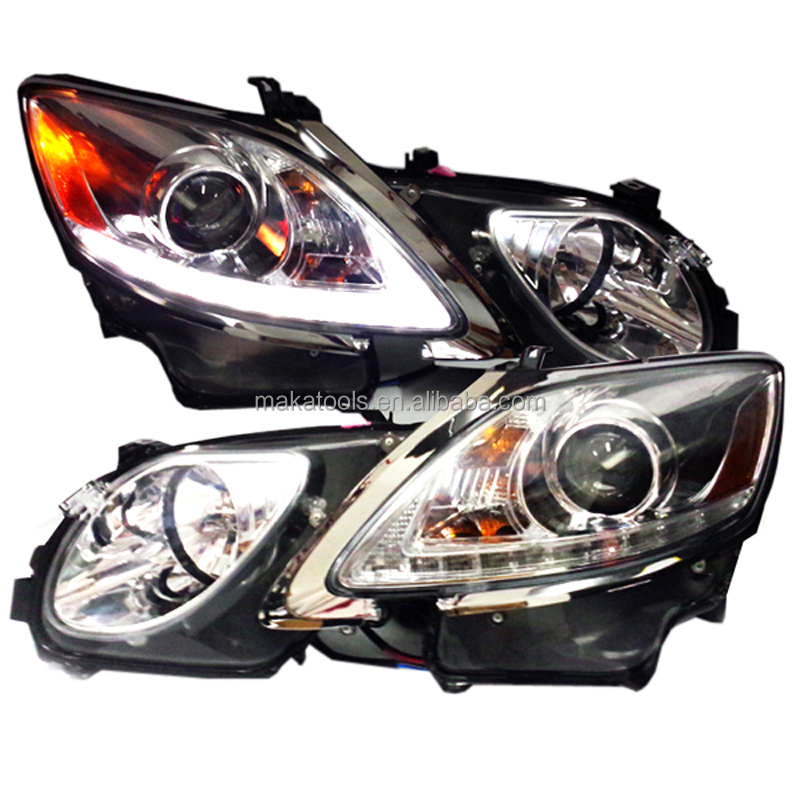 DRLXenon Headlight Assembly For Lexus GS300 GS350 GS430 GS450h GS460 2006-11 LED