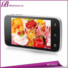 4inch XMM6321 chipset low cost 3g mobile phone, 512mb ram 4gb rom phone, half price phones