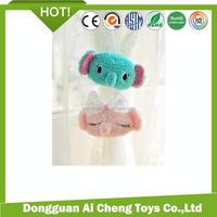 lovely plush elephant toy for curtain