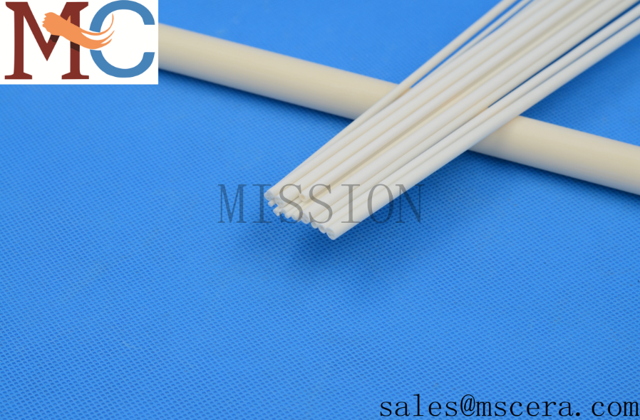99.7% High Alumina Pipes for Furnace Thermocouple Protection Tube