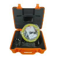 TEC-Z710DLK borescope endoscope inspection camera 30m cable, CCTV Camera for Pipe and Wall Inspection