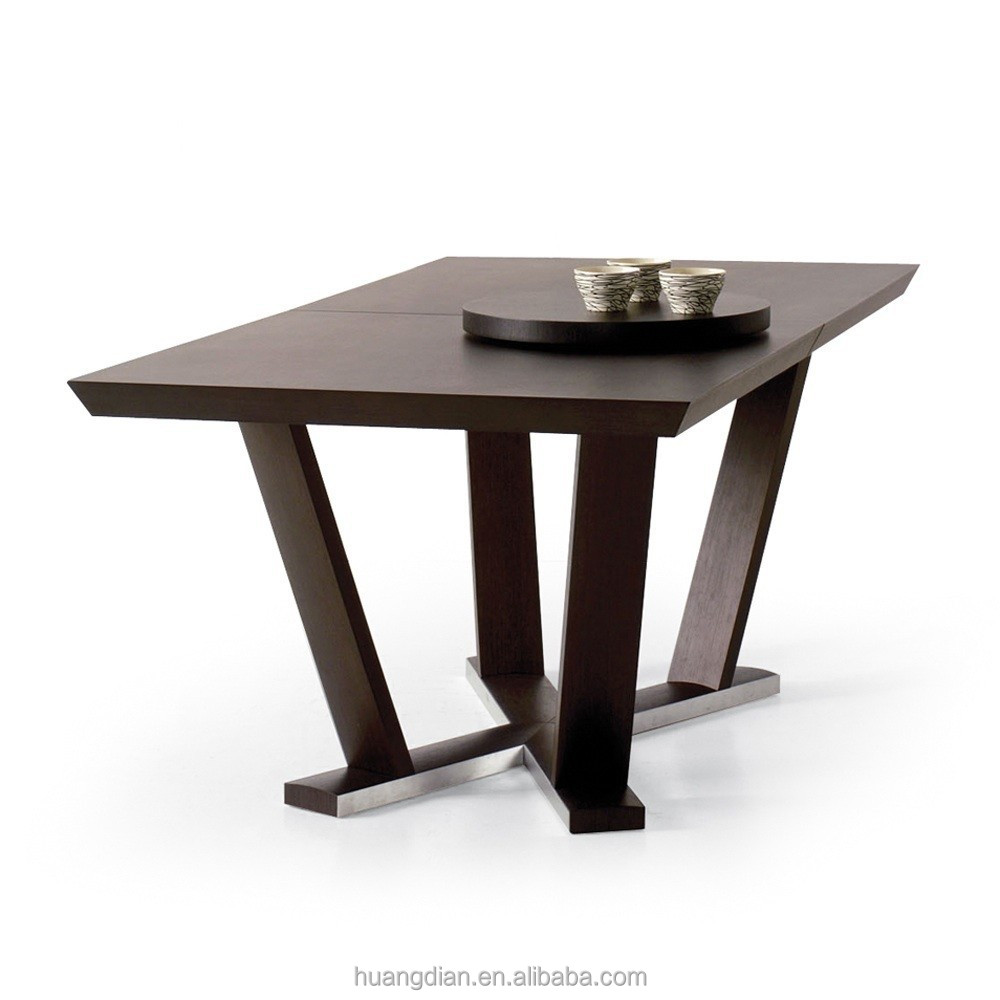 Cheap Solid Wood Dining Table Room Furniture Restaurant Furniture ...