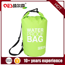 Durable lightweight outdoor travel sports floating diving 20L PVC tarpaulin storage bucket dry bags handle waterproof dry bag