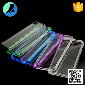 Colorful tpu acrylic case for iphone 7, for iphone 7 case tpu pc