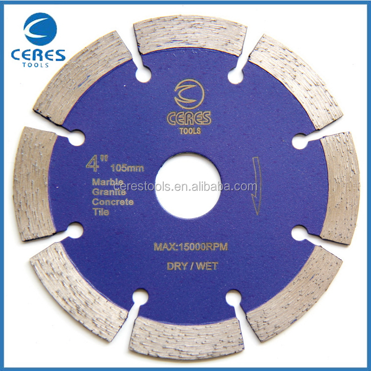 Made in china first grade diamond grinder cutting discs