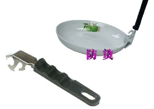 Tongs for hot plates