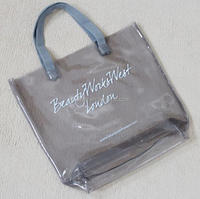 promotional high quality transparent pvc shopping bag beach bag