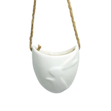 Hot sale ceramic rope hanging plant pot succulent pot