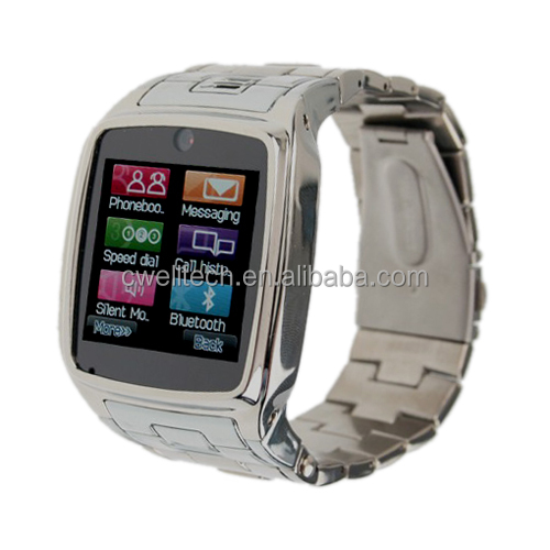 PS-TW810+ Metal Body GSM Touch Screen China hand watch mobile phone