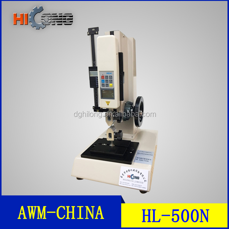 High Accuracy ADL Test Stand Terminal Pulling Force Tester/ Vertical Manual Push Pull Test Stand