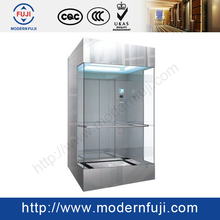 Fast Full View Sightseeing Marketplace Commercial Glass outdoor elevator