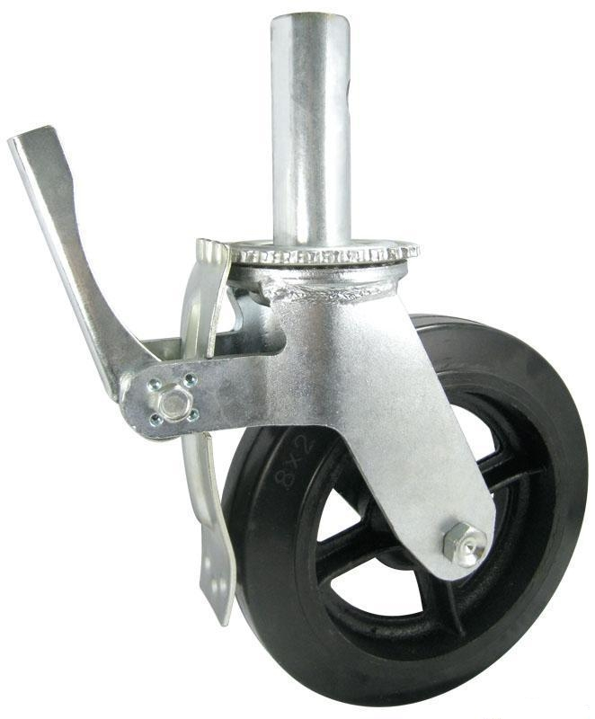 Chinese wholesale scaffold caster wheel with brake