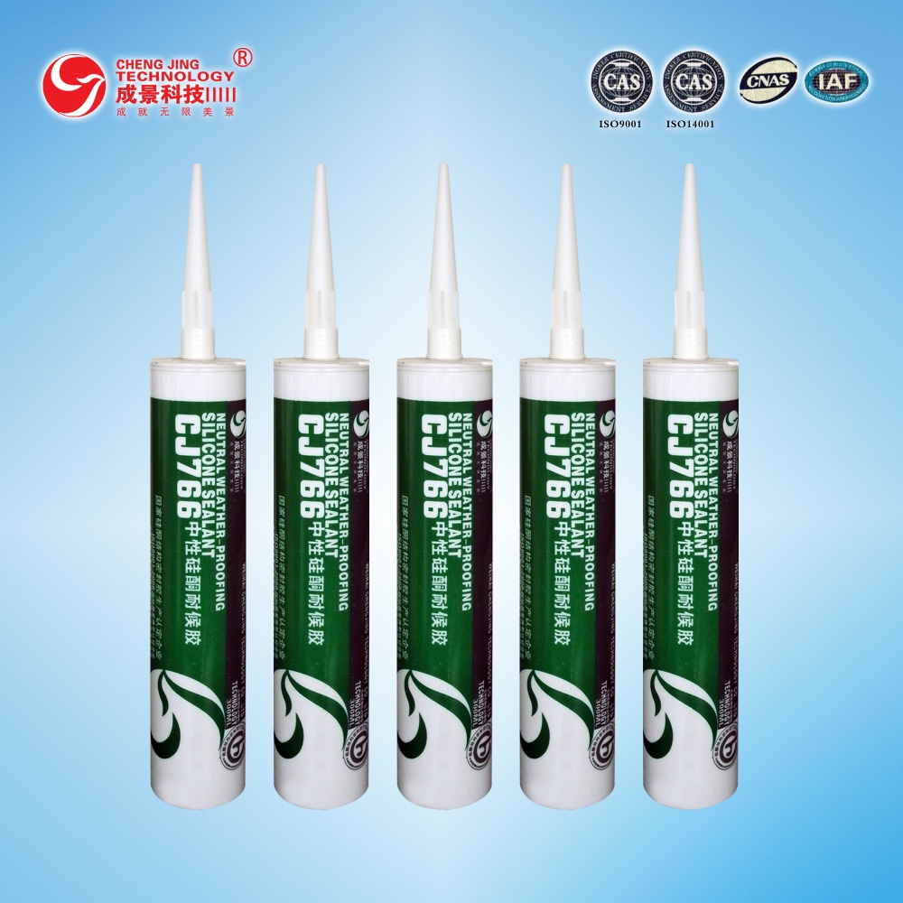 CJ766 GP Quick dry auto glass silicone sealant