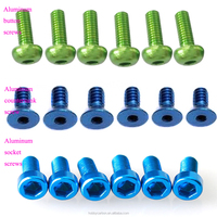 Button/socket/pan screw M3 bolt nuts aluminum nut bolt manufacturing machinery price