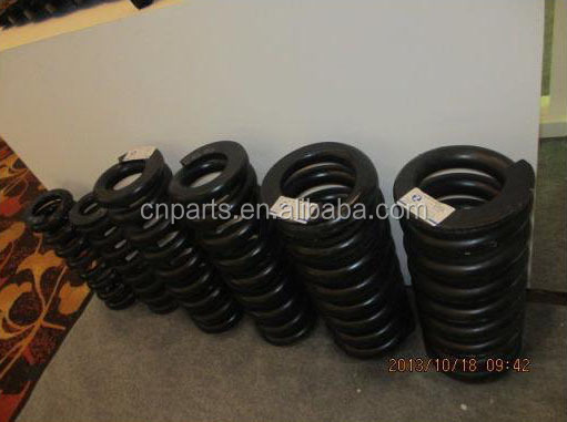 Excavator PC600/PC650/PC700/PC800 track adjuster spring recoil only